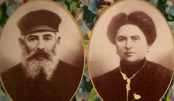 Parents of Freda Krouk, Abraham's Wife (Levine)